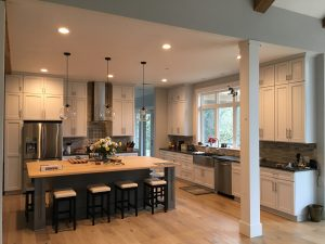 Luxury kitchen open floor plan