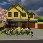 Rupp Familiy Builders Craftsman home design 3d rendering